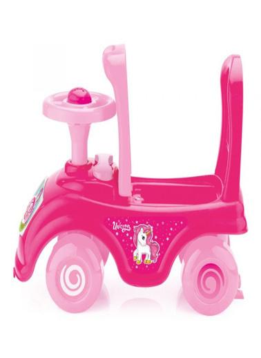 Dolu Dolu Unicorn Pedalsız İlk Aracım Pembe 2527 Renkli